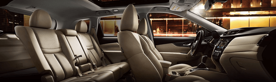 Interior Layout of 2017 Nissan Rogue, Nissan Rogue Specials near Gallatin, TN