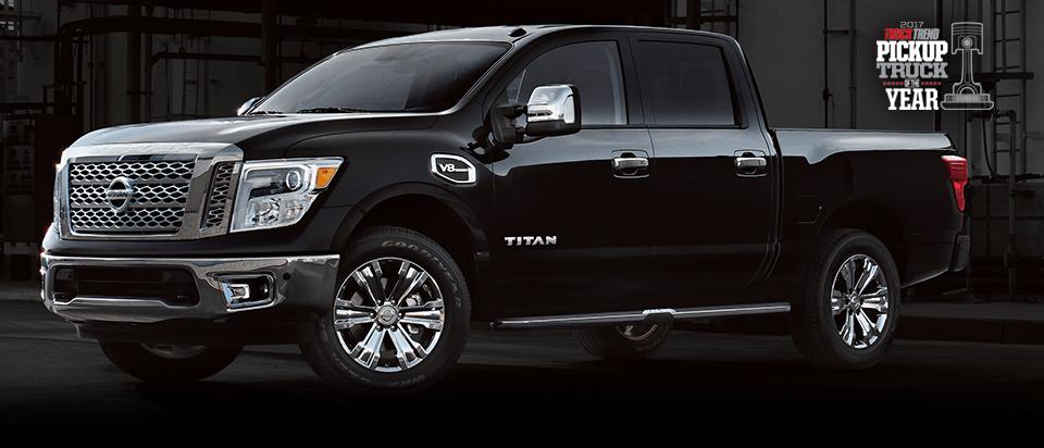 Black 2017 Nissan Titan for Sale near Shelbyville, TN