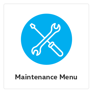 Maintenance Menu