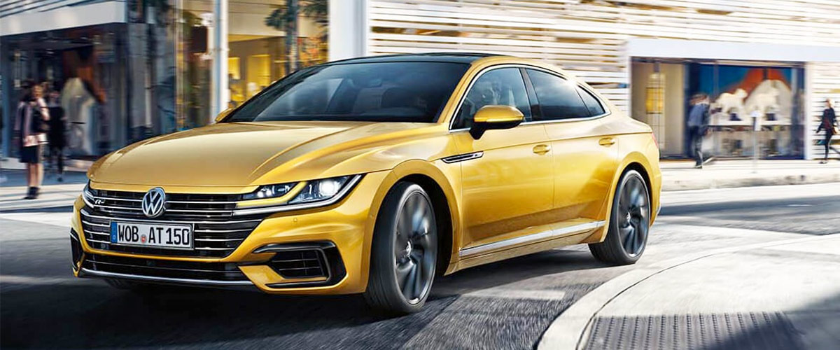 The New 2019 VW Arteon