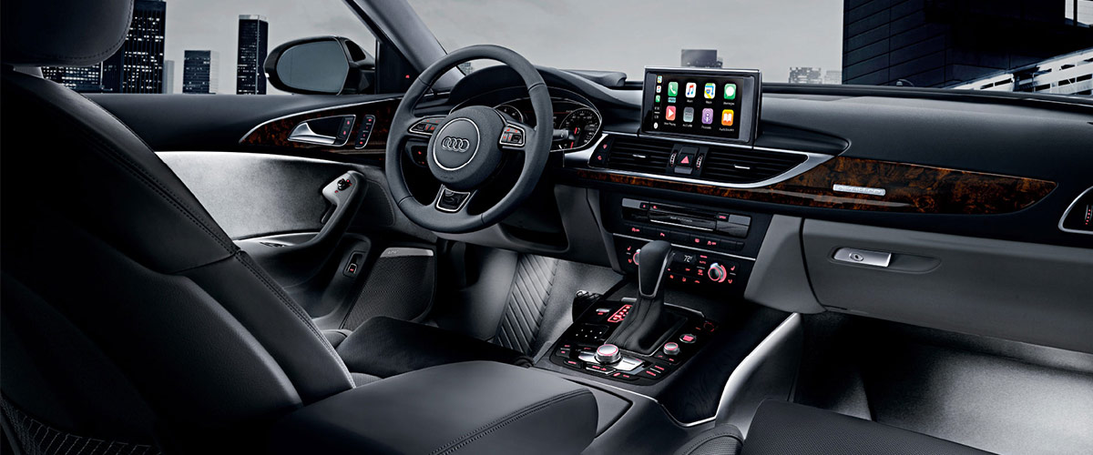 Interior Features for 2018 Audi A6