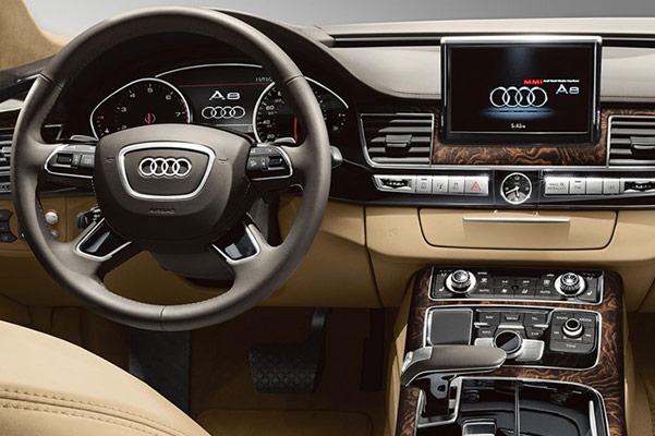 New Audi A8 Sedan Interior & Technology