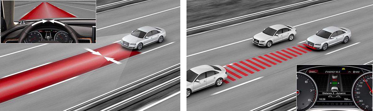 2018 Audi A8 Safety Systems