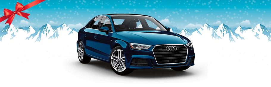 2018 Audi A3 in Blue