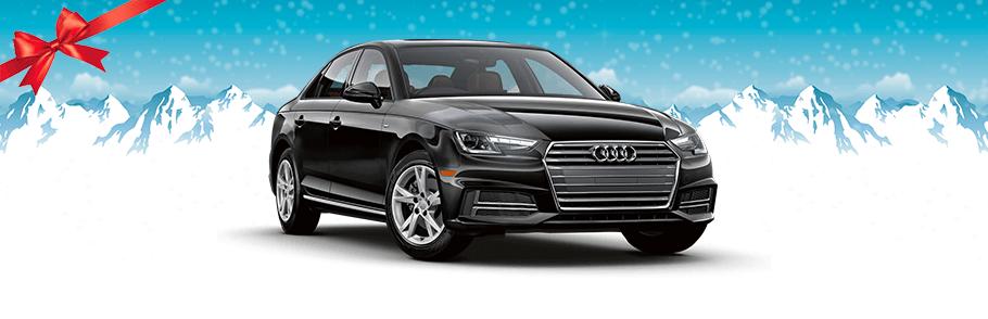 2018 Audi A4 in Black