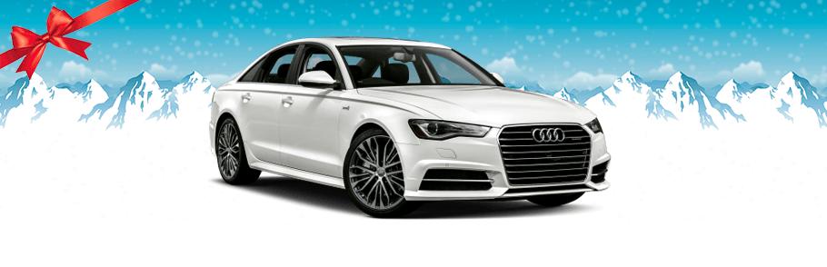 2018 Audi A6 in white