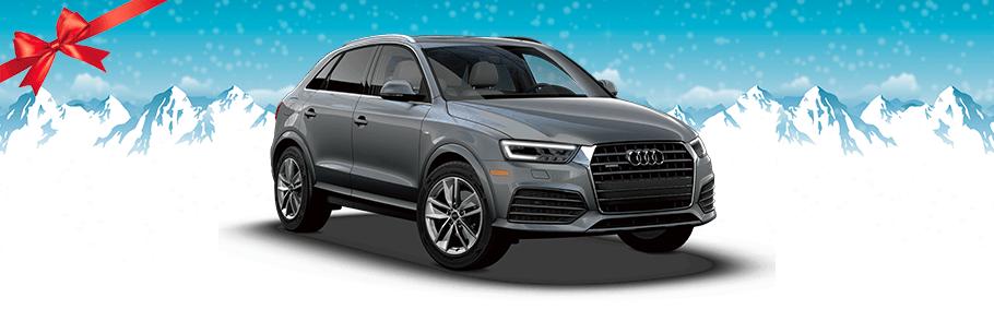 2018 Audi Q3 in grey