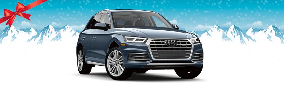 2018 Audi Q5 in blue