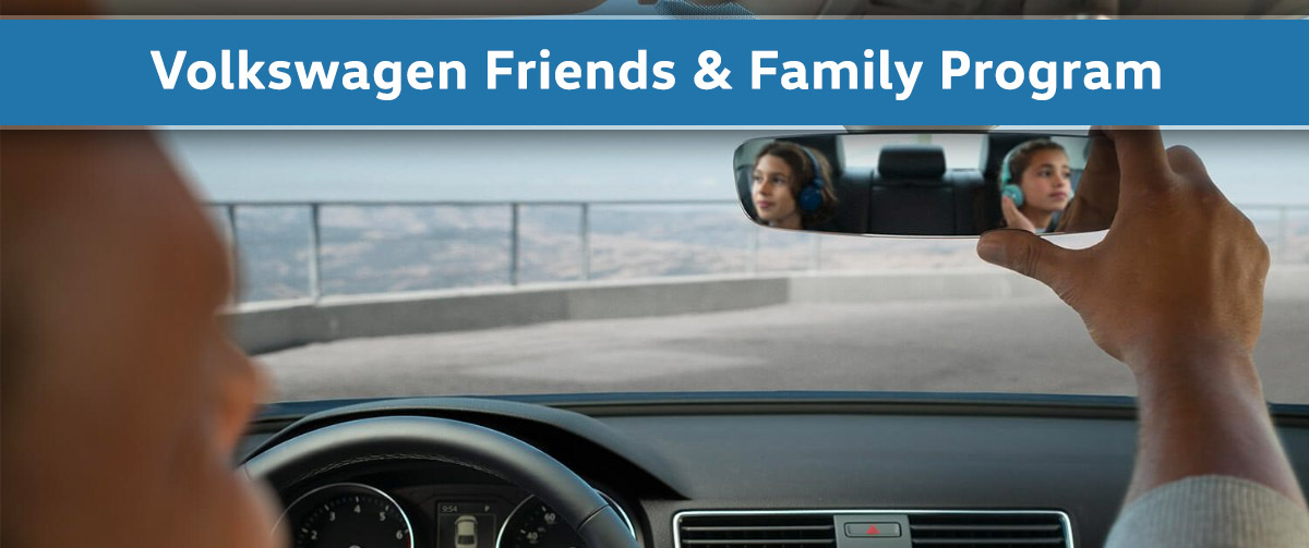 Volkswagen Friends and Family Program
