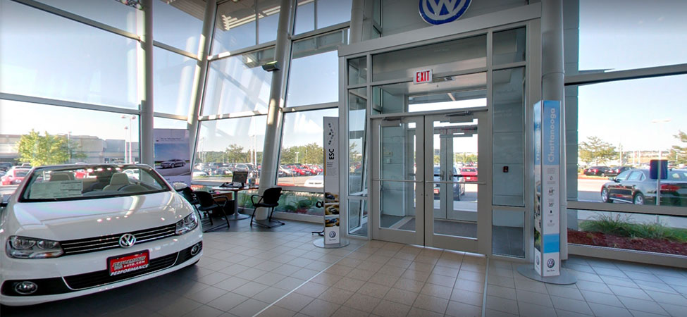 Baxter Volkswagen La Vista interior dealership image
