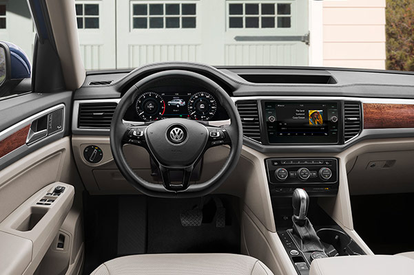 2019 Volkswagen Atlas MPG, Engine Specs & Safety Features