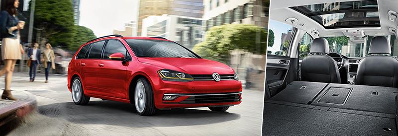 New 2019 Volkswagen Golf SportWagen SE FWD